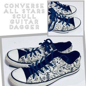 Converse Limited Ed All Star Skull Doom Sneaker
